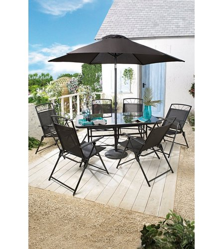 Superb Image For Kent 8 Piece Patio Set From Studio