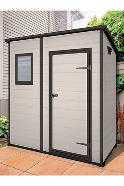 Keter 6 x 4 Pent Shed