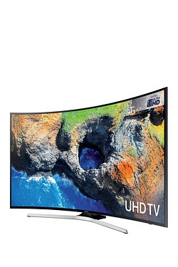 "Samsung Ultra HD 55"" Smart Curved LED TV"