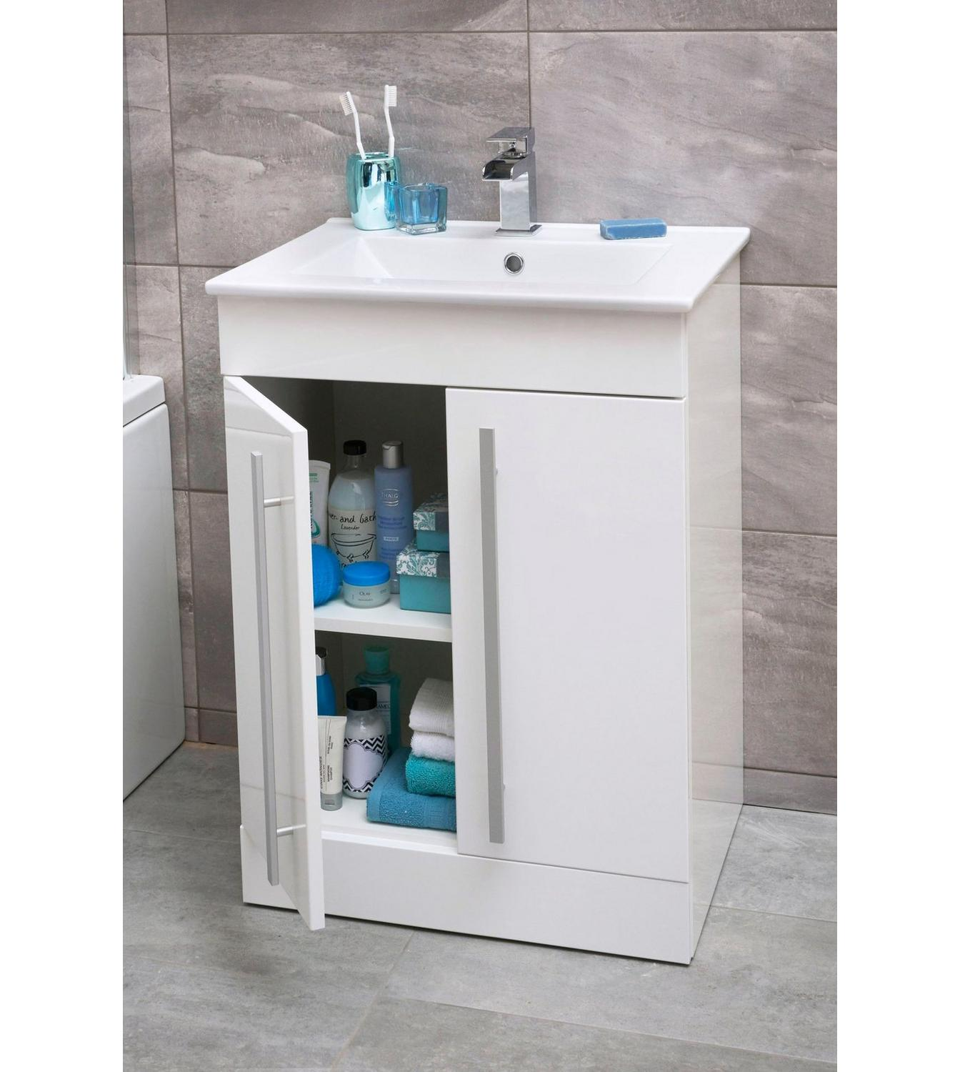 Image For Pure Vanity Unit With Basin Mixer And Waste