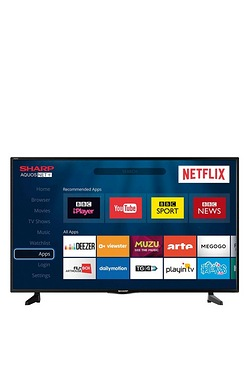 "Sharp 40"" Freeview HD LED TV"