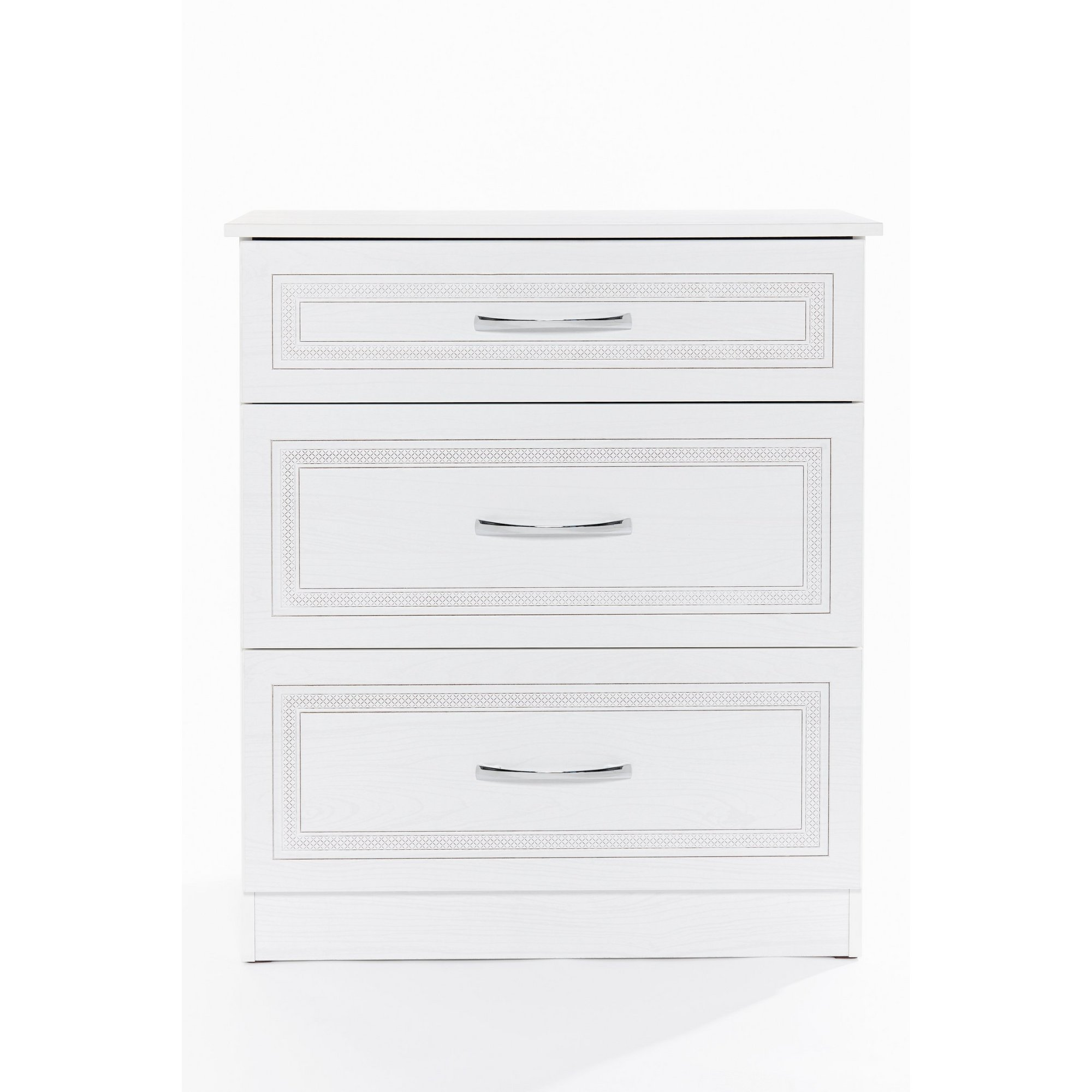 Image of Dorset 3 Drawer Chest of Drawers - Ready Assembled