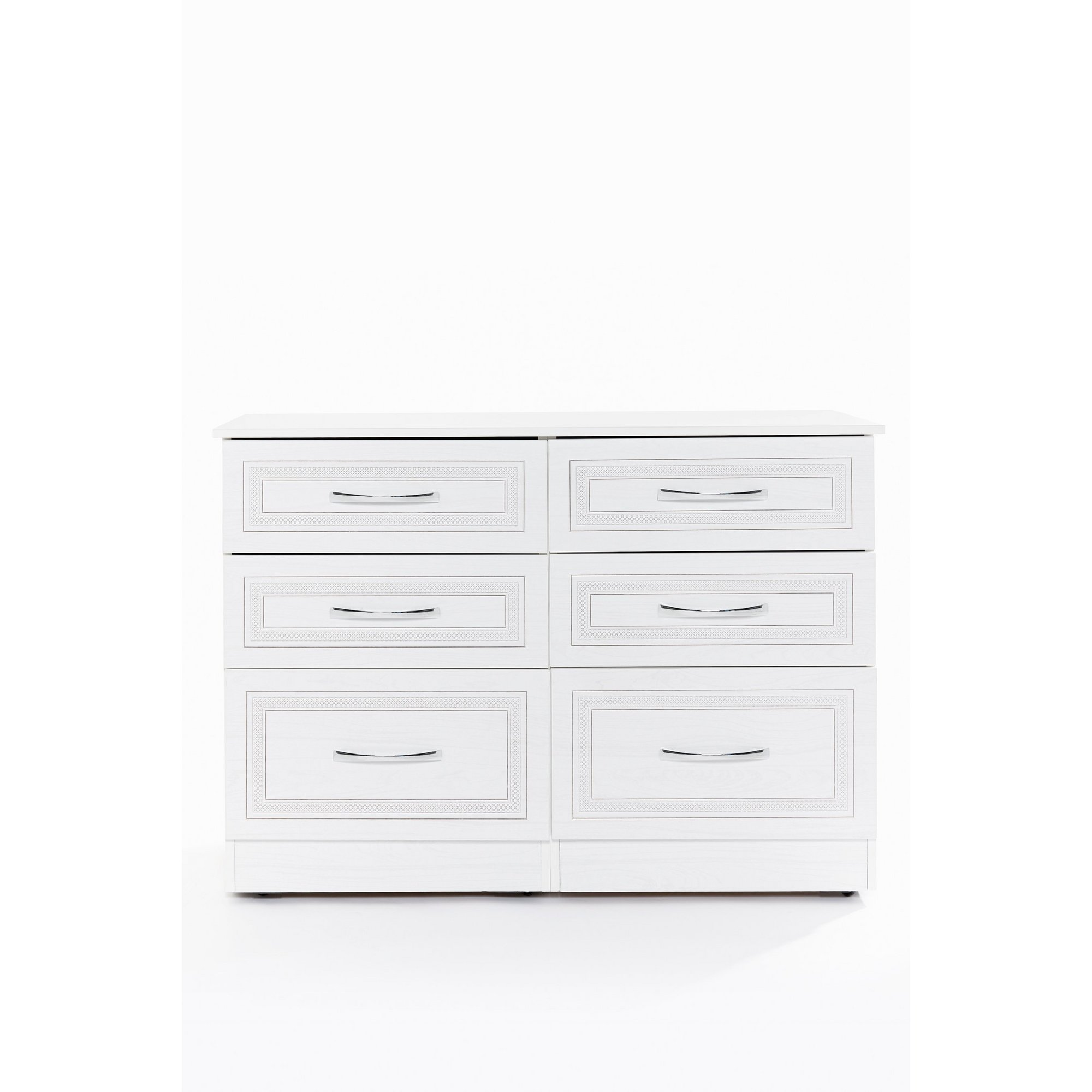 Image of Dorset 6 Drawer Chest of Drawers - Ready Assembled