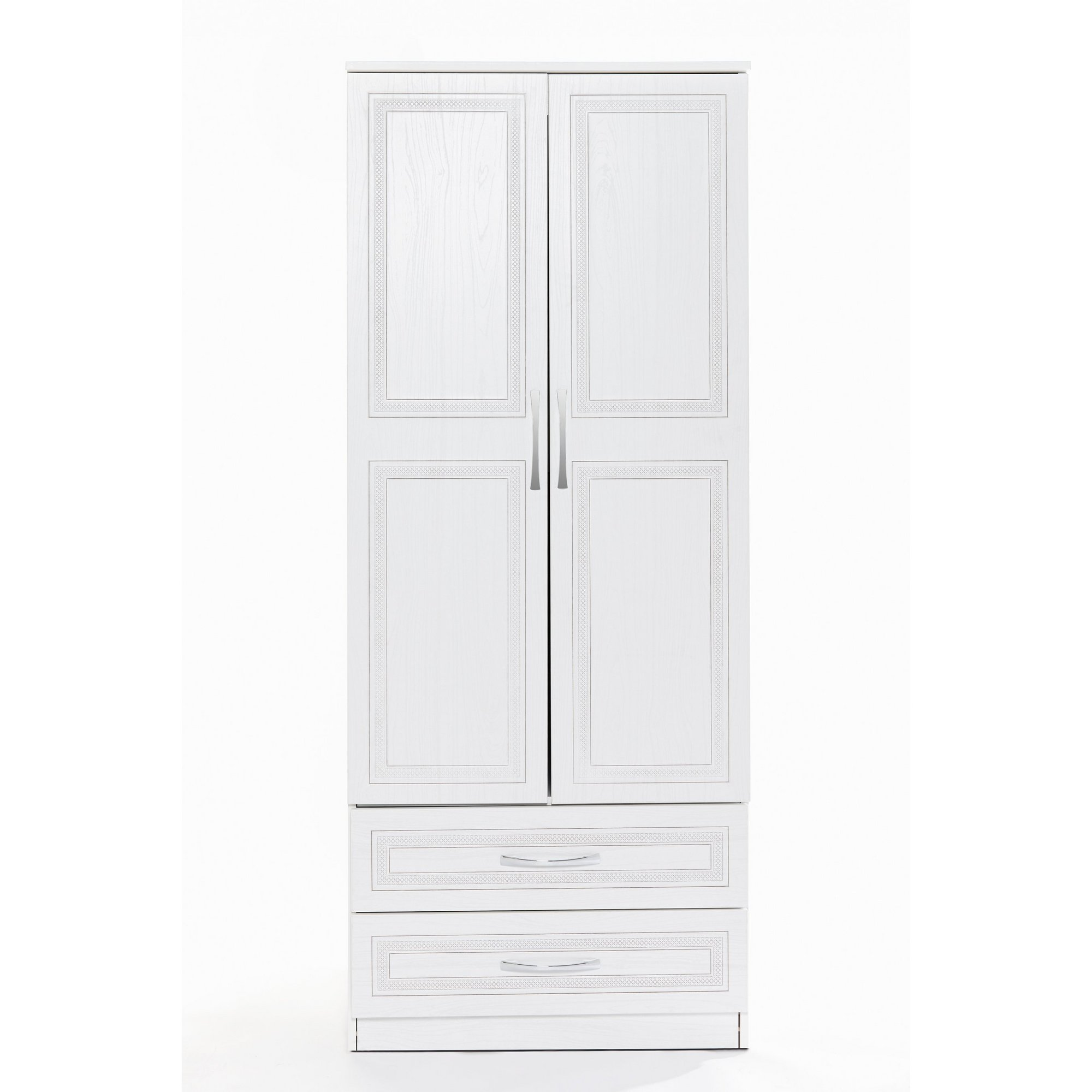 Image of Dorset 2 Drawer Wardrobe - Ready Assembled