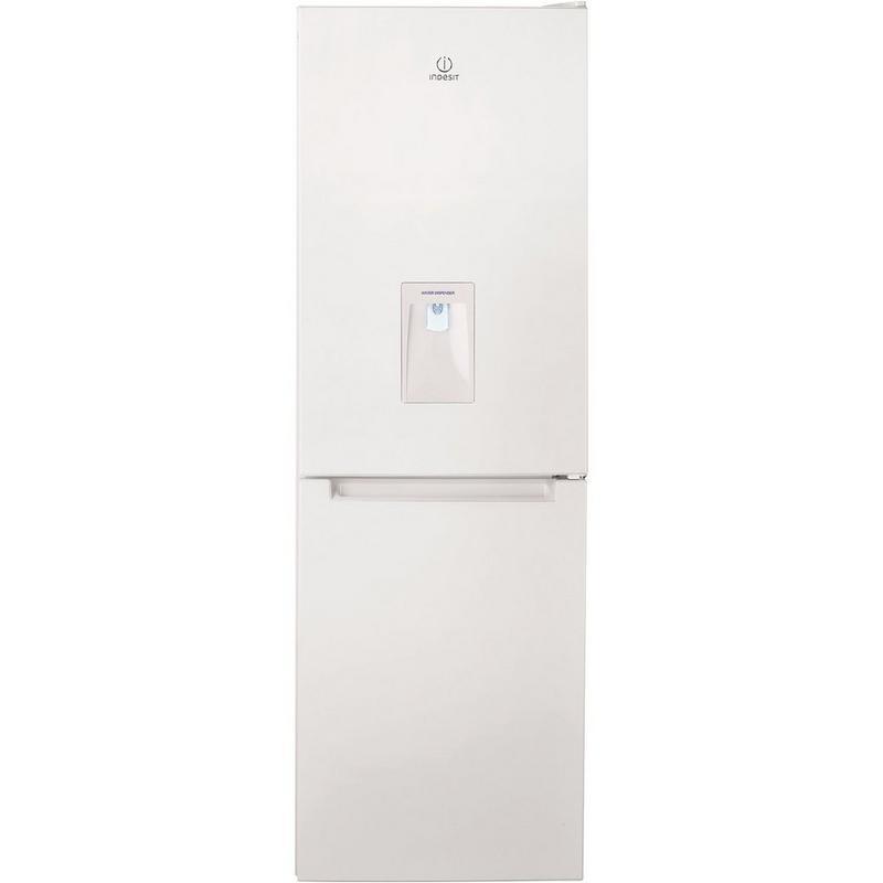 indesit 60cm fridge freezer with water dispenser