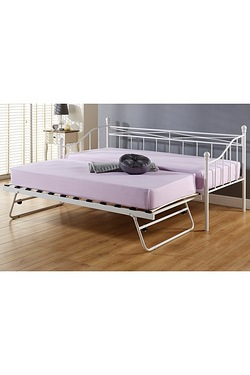 Paris Daybed With Trundle - With Mattress
