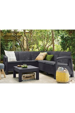 Allibert By Keter Bahamas 5 Seater Sofa