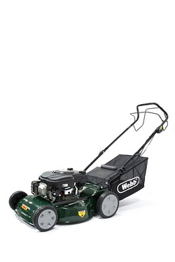 "Webb R46SP 18"" Self Propelled Petrol Rotary Mower"