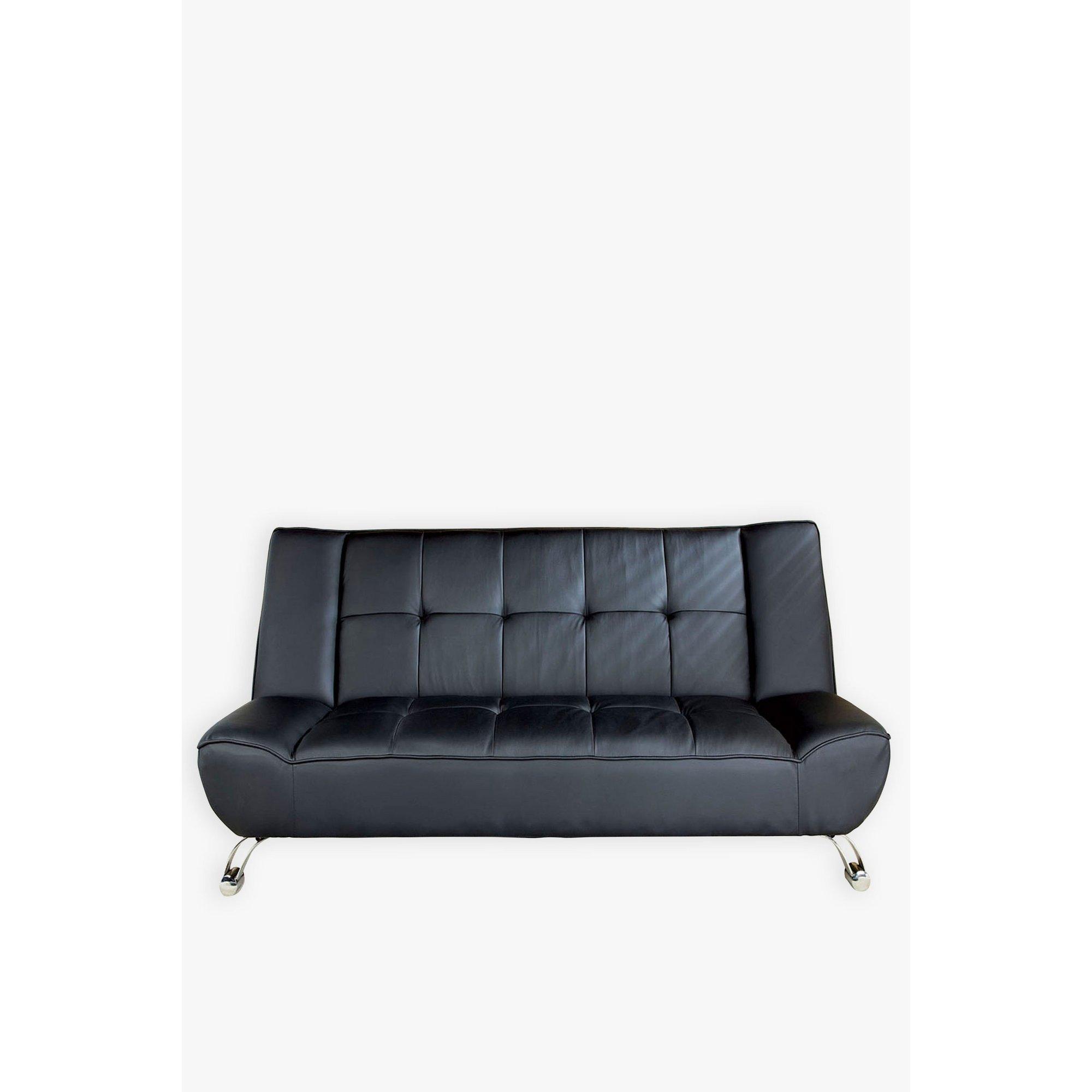 Image of Genoa Faux Leather Sofa Bed