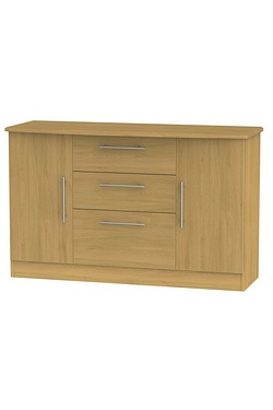 Loxley 2 Door 3 Drawer Unit