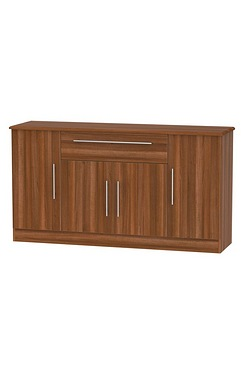 Loxley 4 Door 1 Drawer Wide Unit