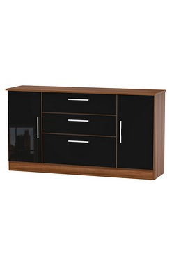 Harmony 2 Door 3 Drawer Wide Unit