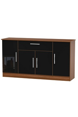 Harmony 4 Door 1 Drawer Wide Unit