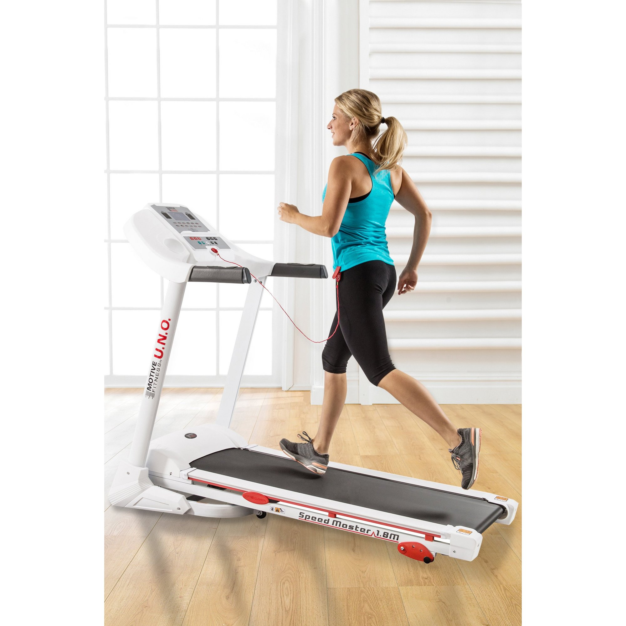 Image of Motive Fitness By Uno Speed Master 1.8M Treadmill
