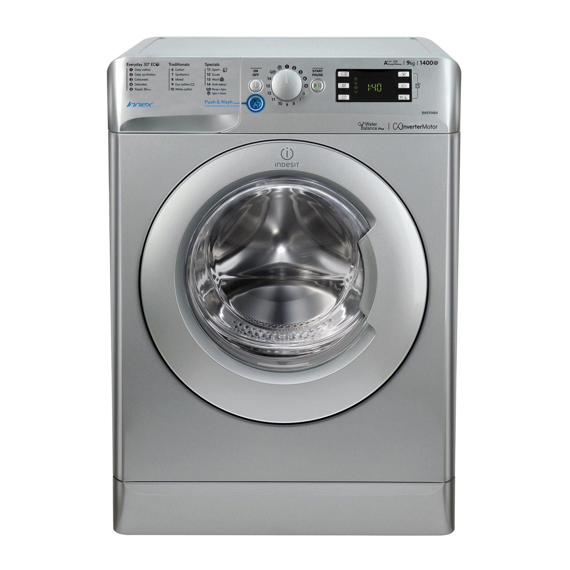 Image of Indesit 9kg 1400 Spin Washing Machine