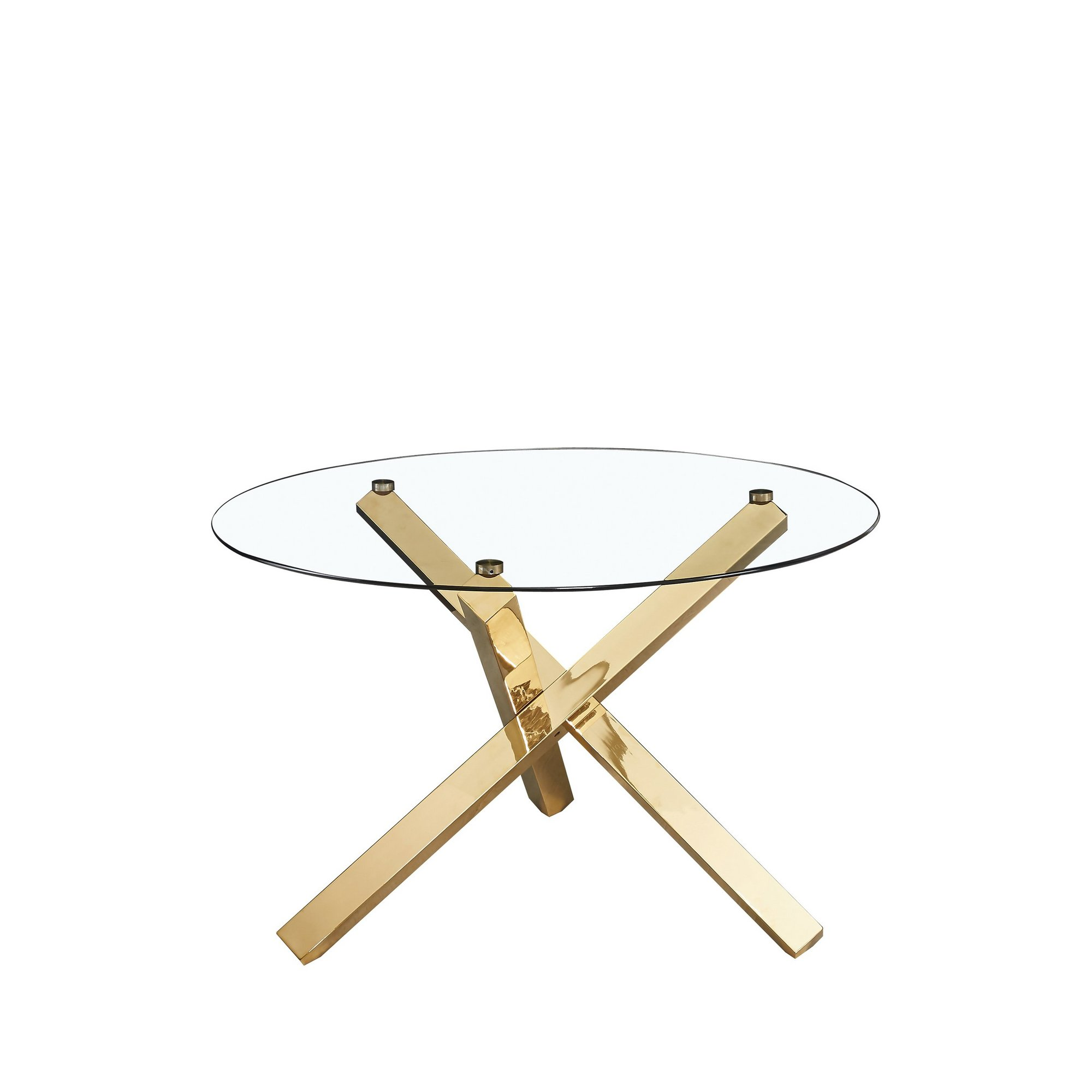 Image of Capri Glass Top Dining Table