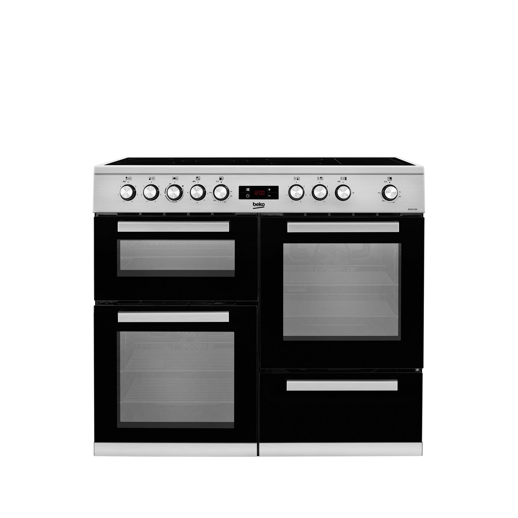 Image of Beko 100cm Electric Double Oven Range Cooker