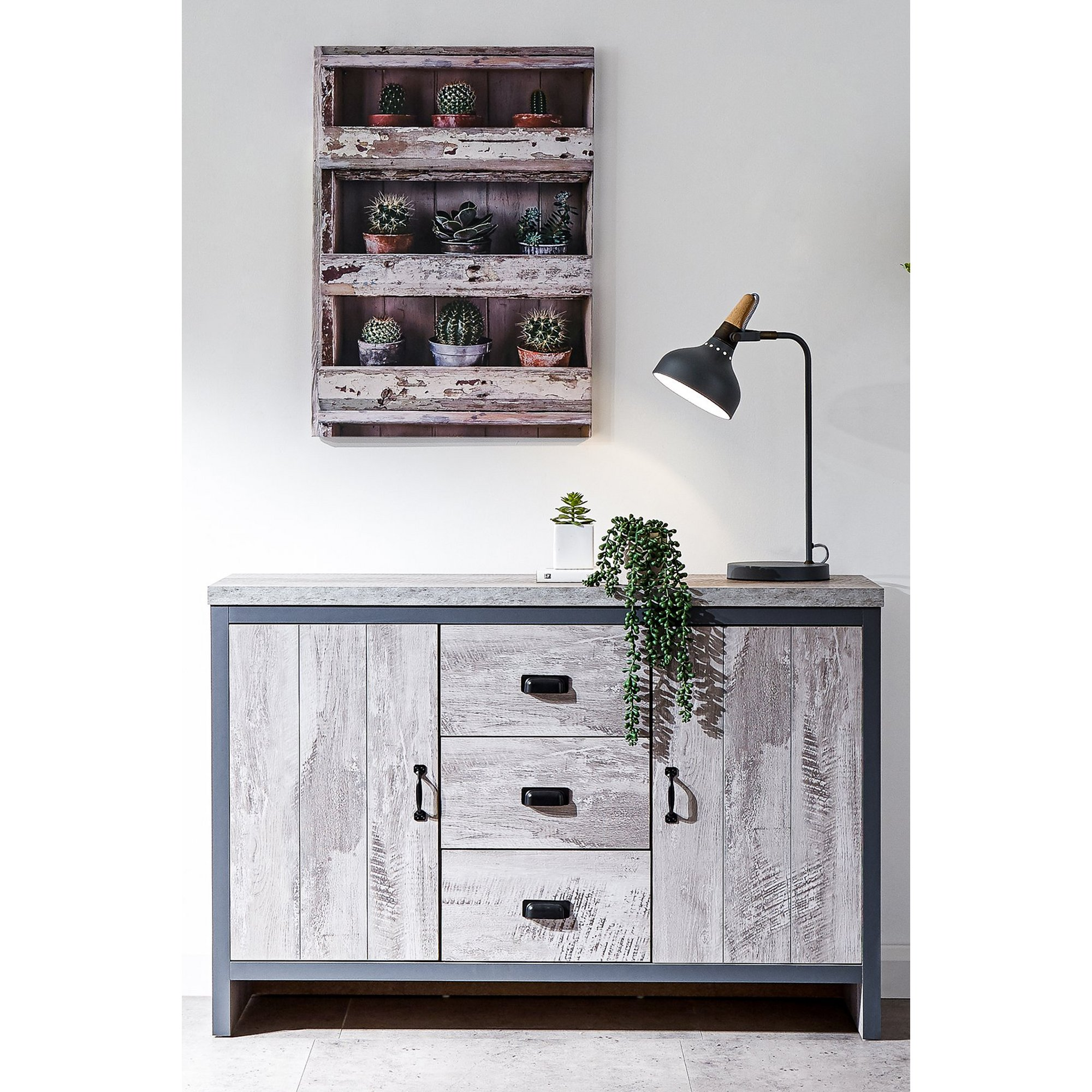Image of Boston 2 Door 3 Drawer Sideboard