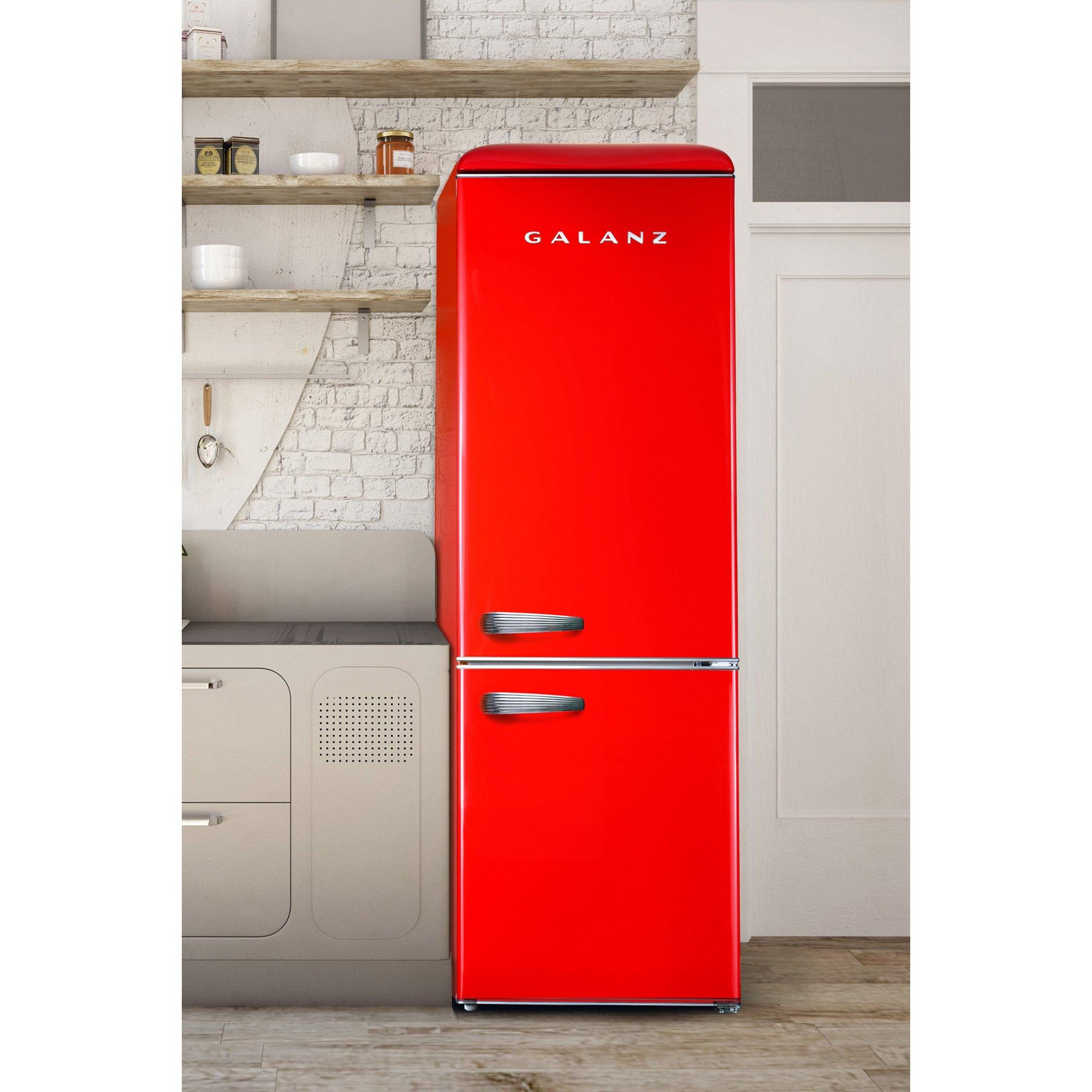 Image of Galanz 60cm 300L Retro Fridge Freezer