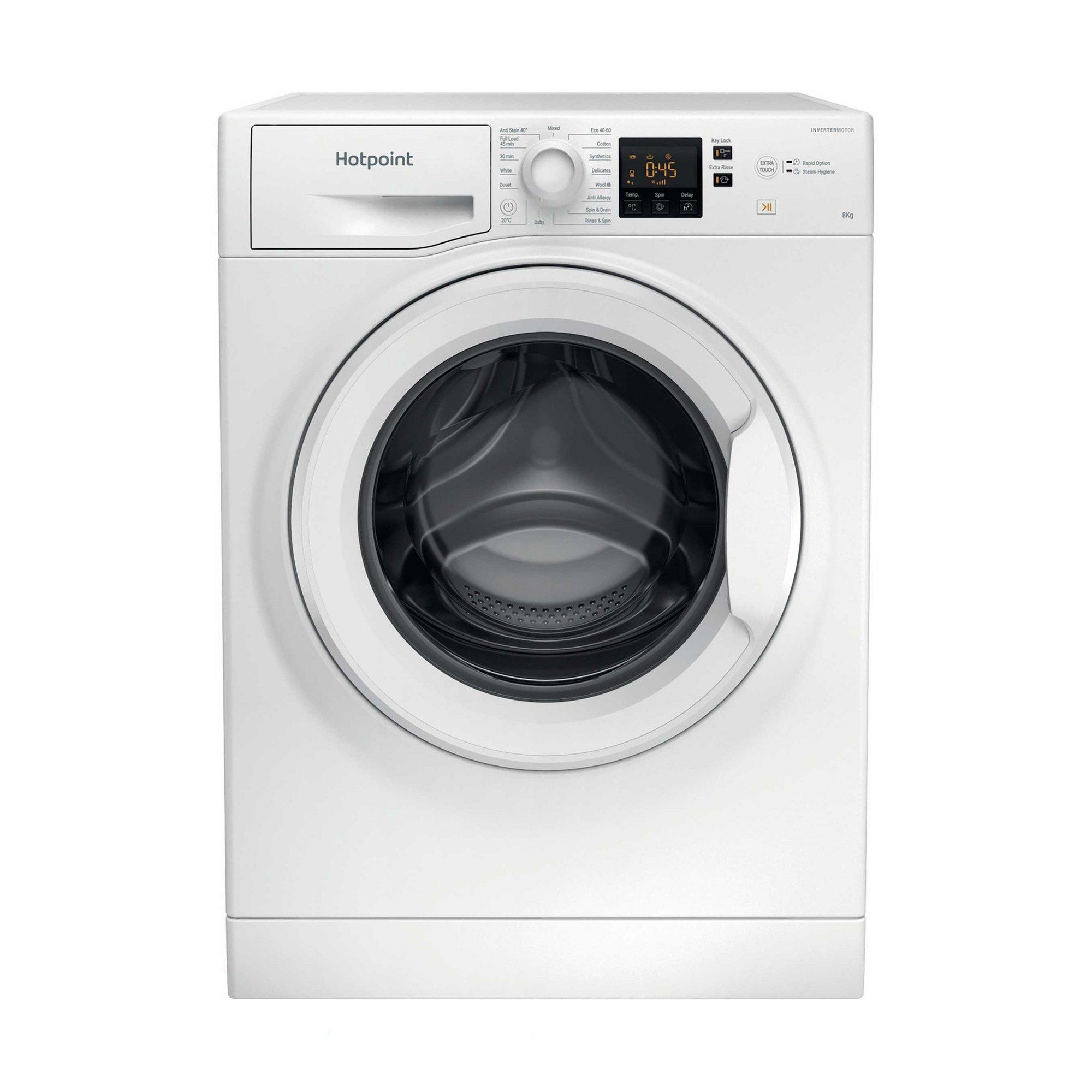 Image of Hotpoint 8kg 1400 Spin Washing Machine
