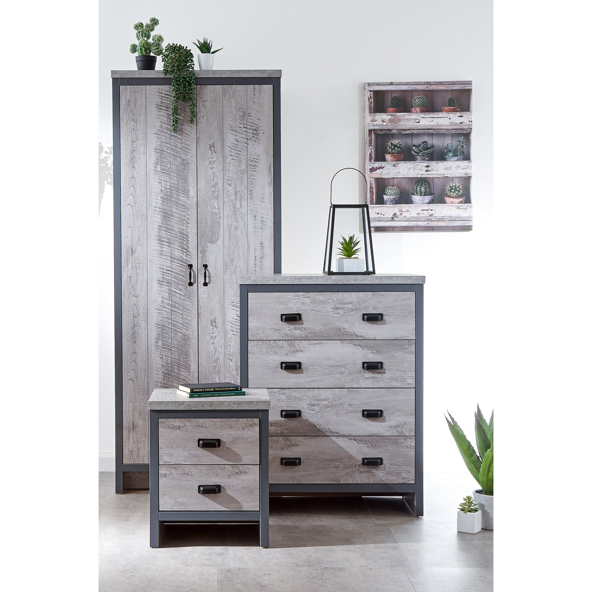 Image of Boston 3 Piece Bedroom Set