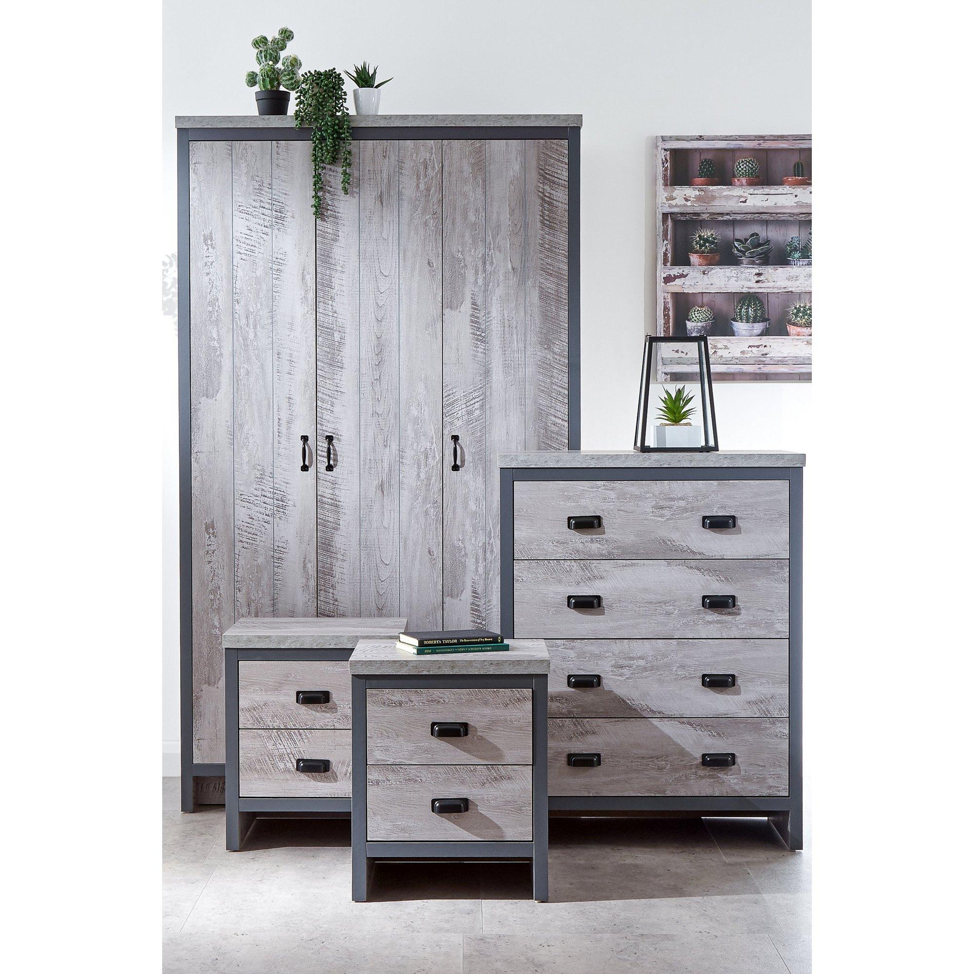 Image of Boston 4 Piece Bedroom Set
