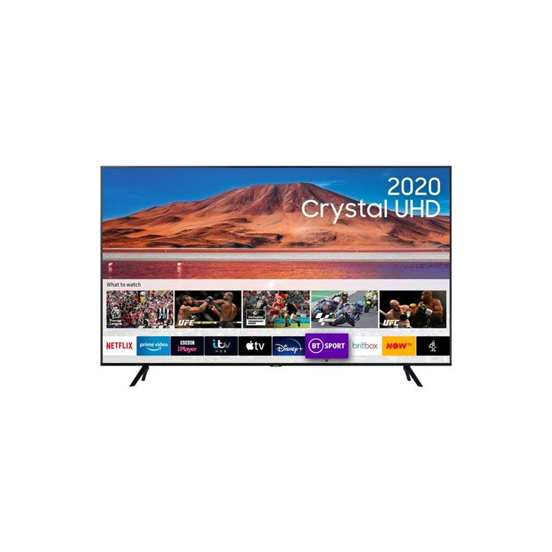 Samsung 75 Inch UHD UE75TU7100KXXU Crystal View Smart TV