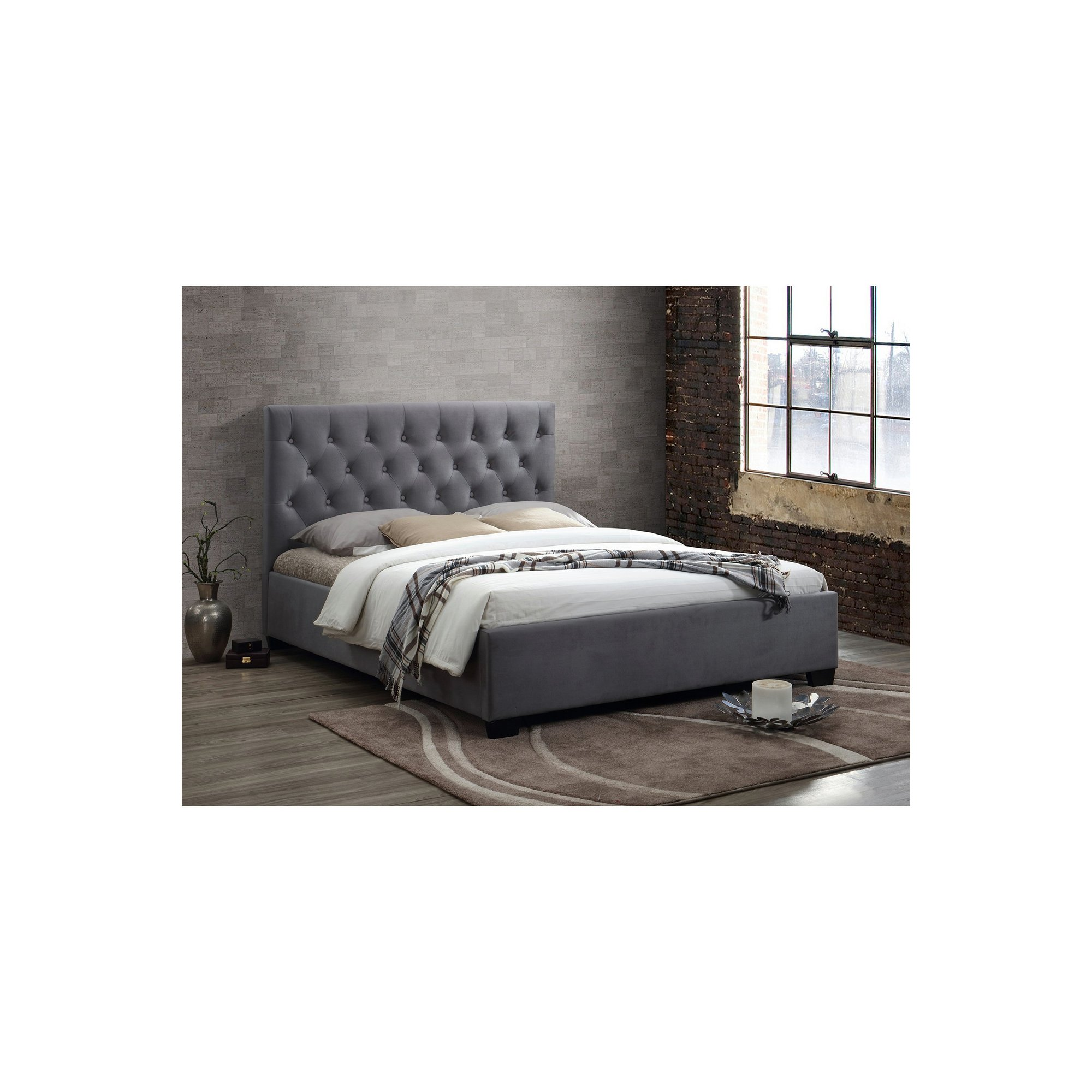 Image of Cologne Bed - Grey
