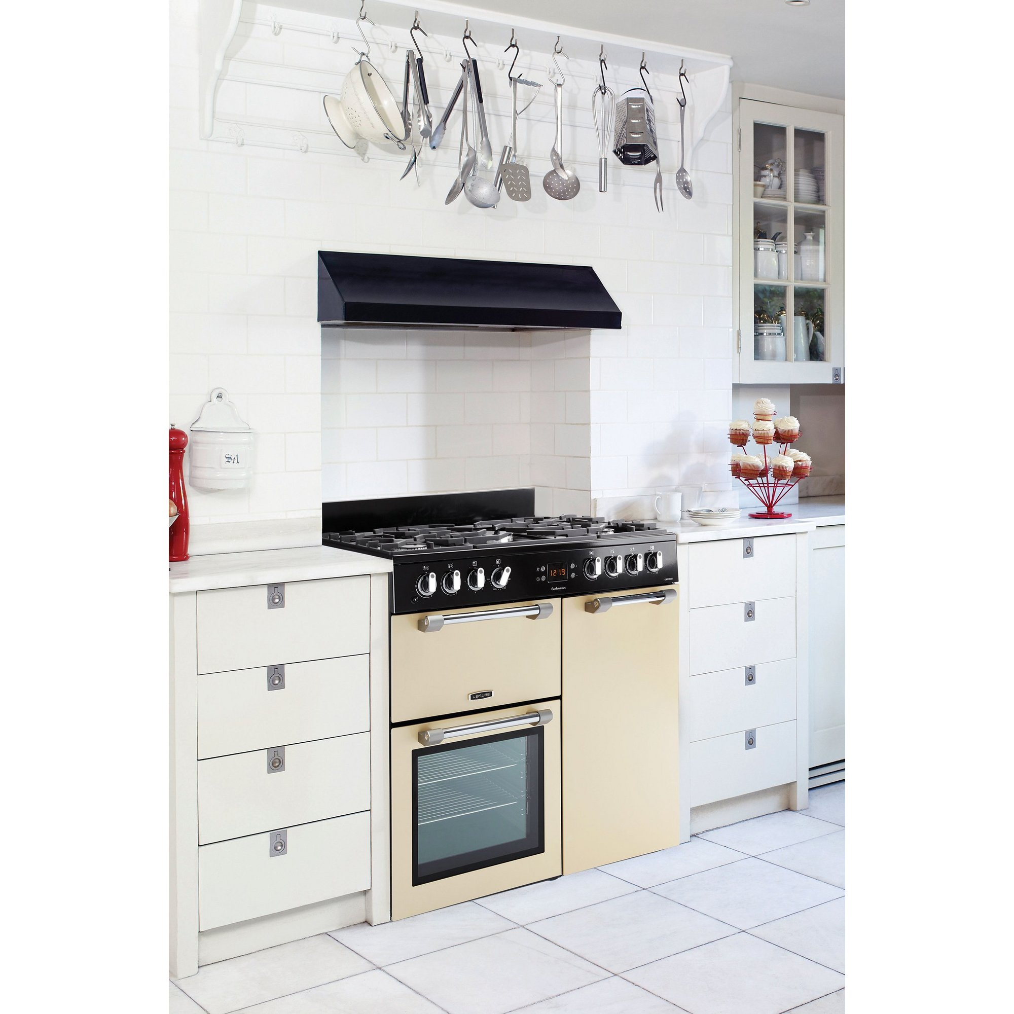Image of Leisure 90cm Cookmaster Dual Fuel Range Cooker