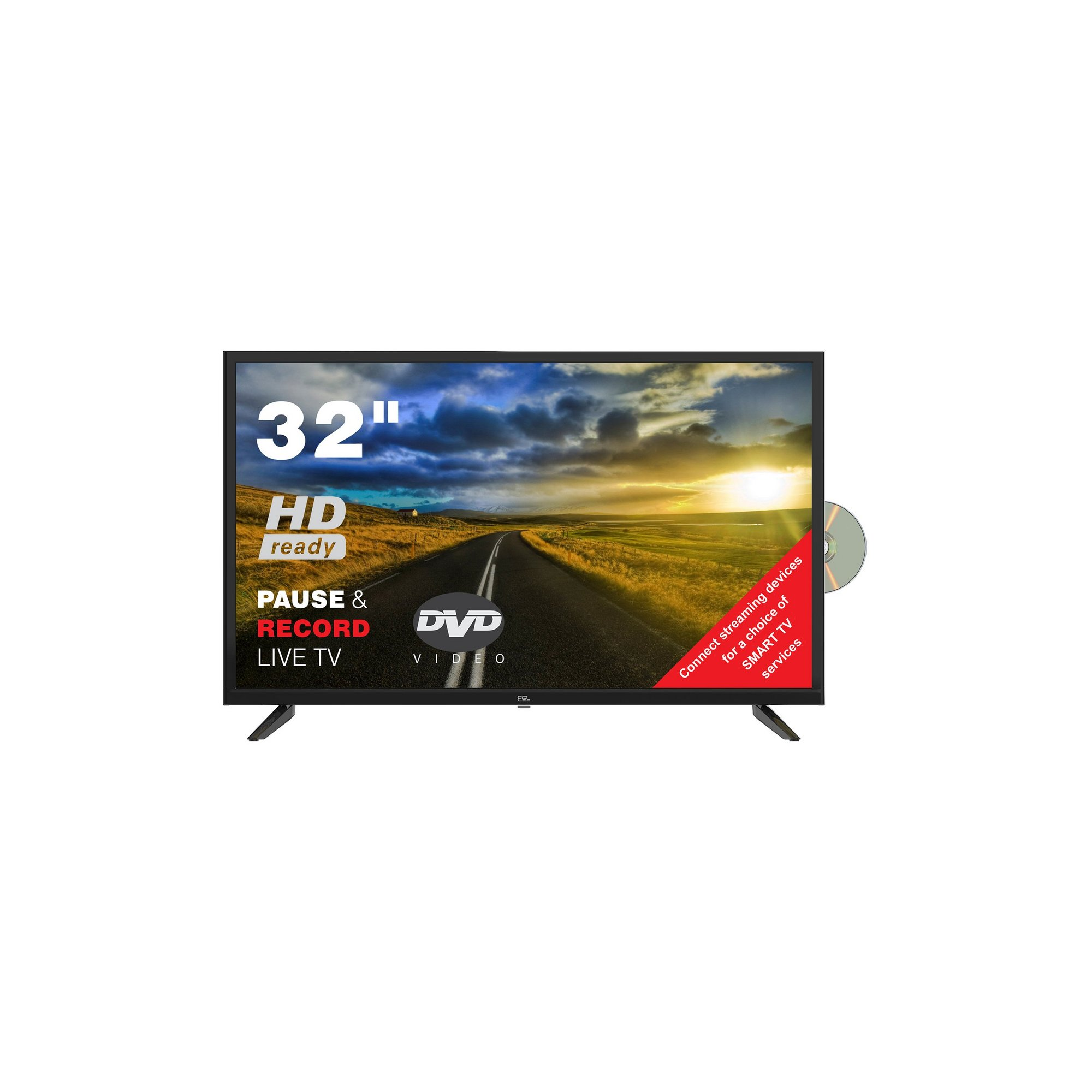 Image of 32 Inch Freeview TV Combi