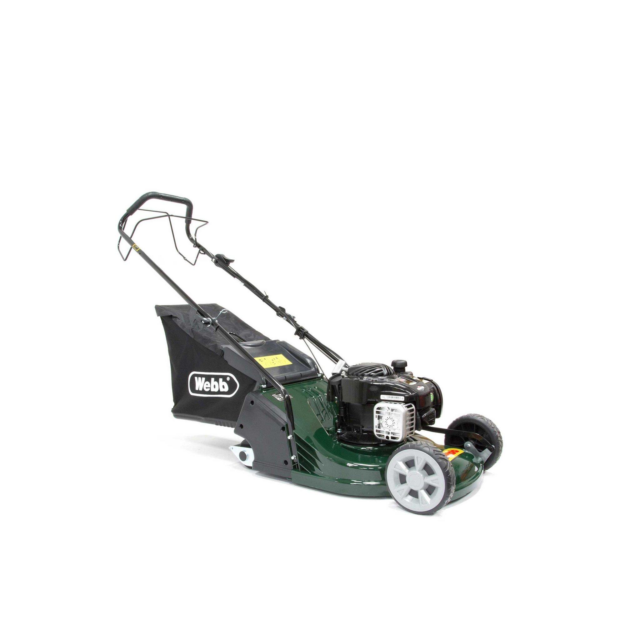 Image of 43cm Self Propelled Petrol Rear Roller Rotary Lawnmower