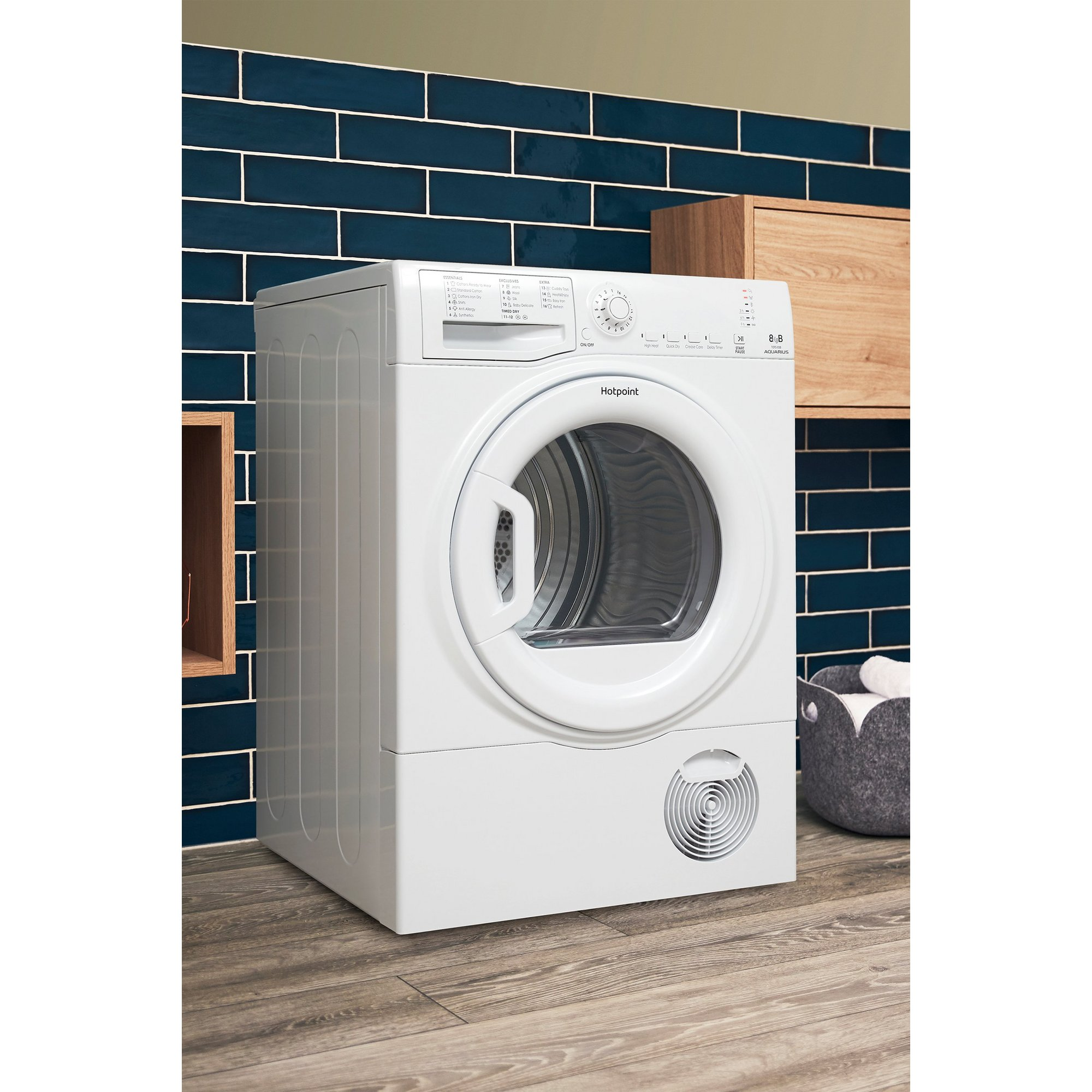 Image of Hotpoint 8kg Condenser Tumble Dryer