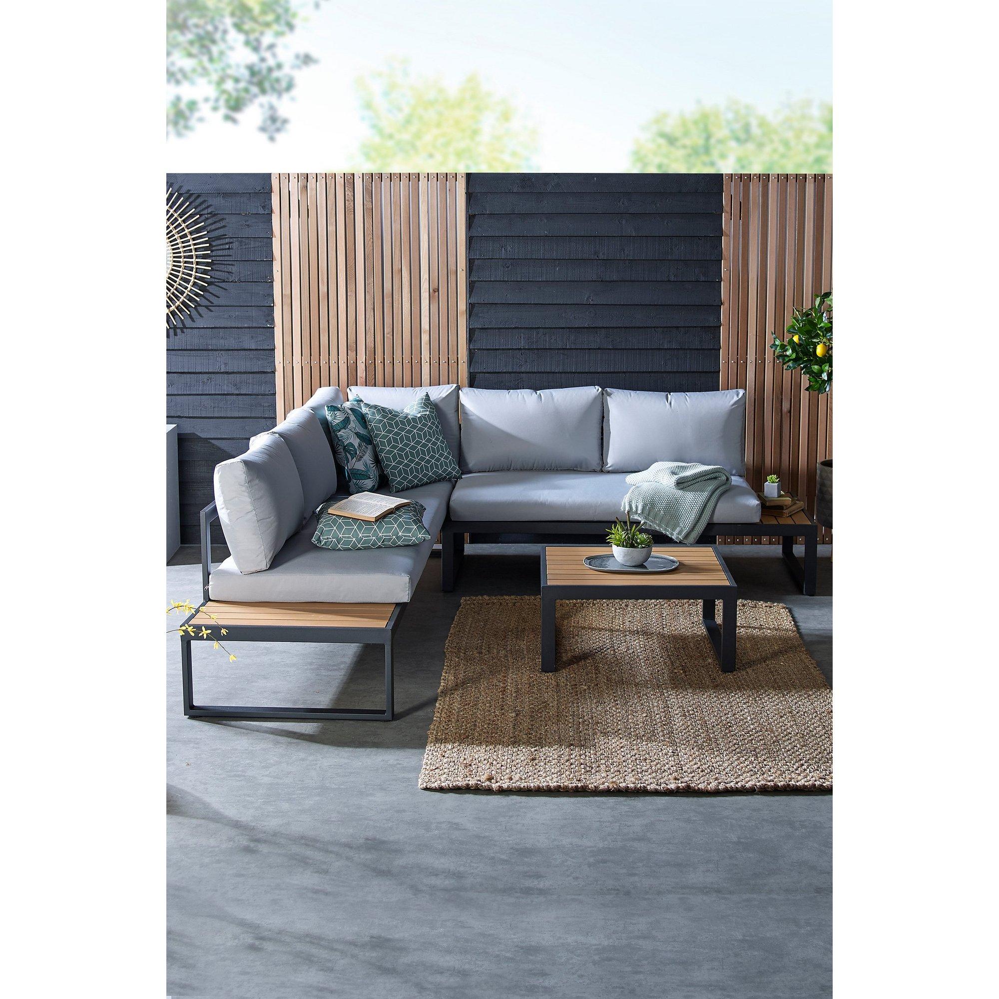 Image of Aruba Corner Sofa Set