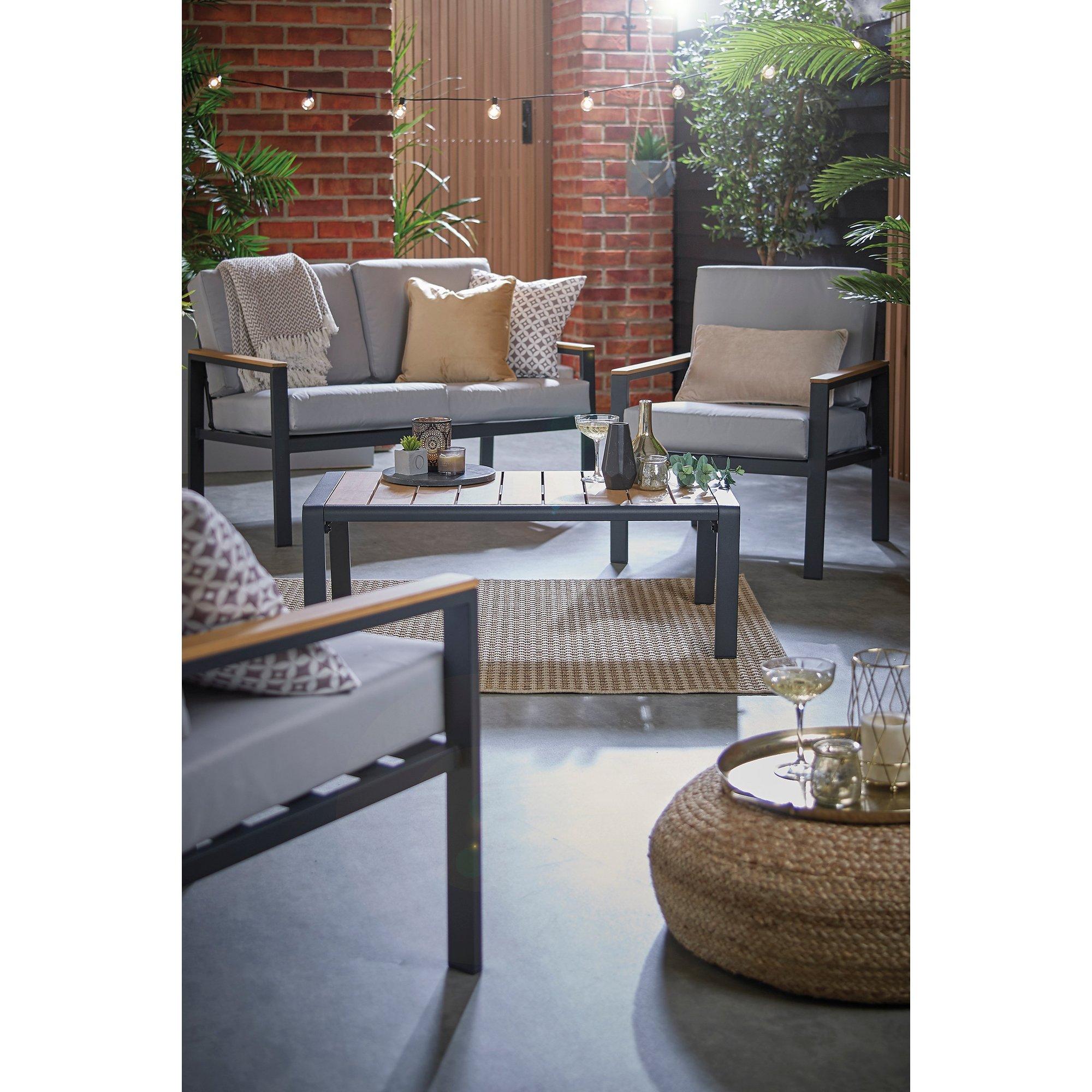 Image of Aruba Aluminium 4-Piece Sofa Set