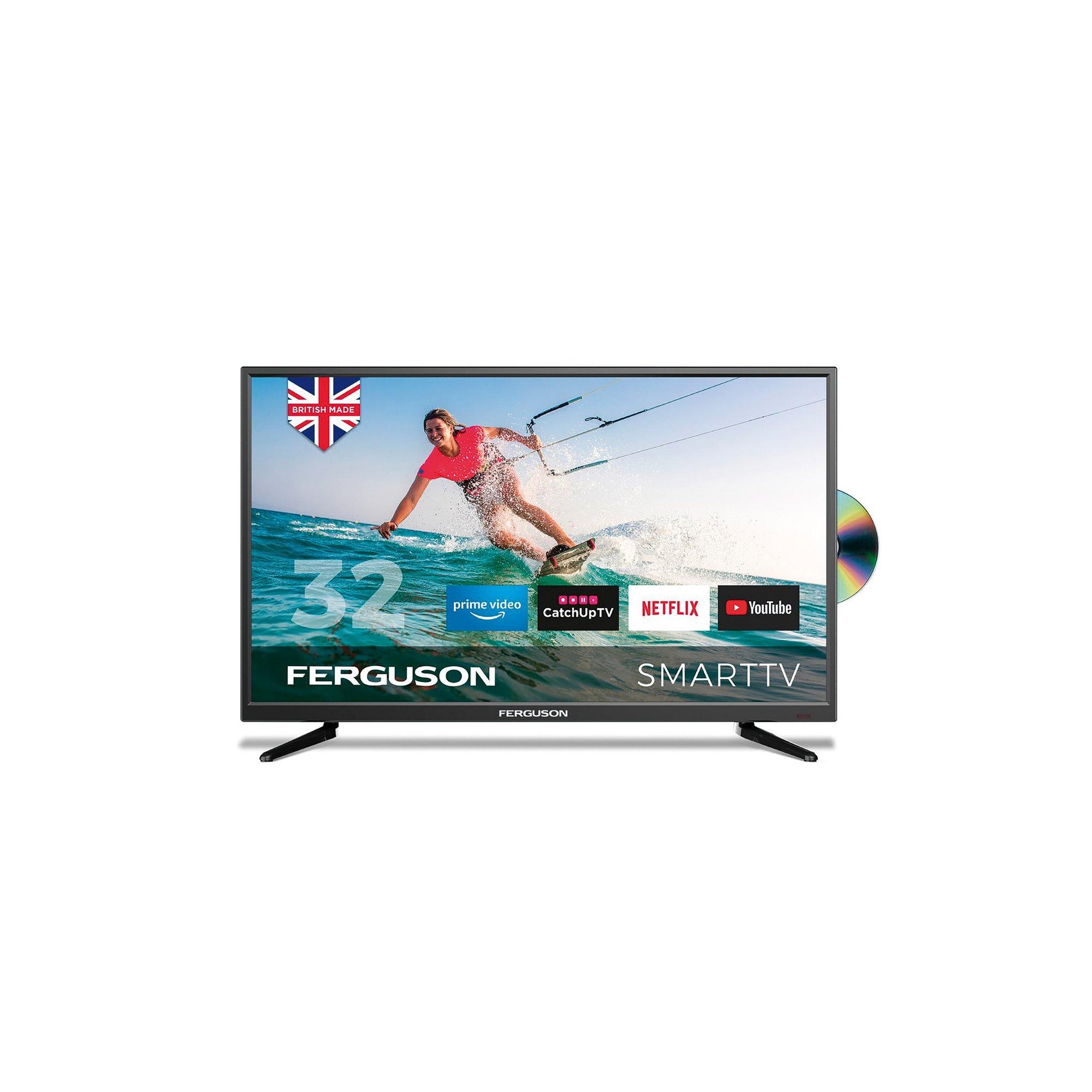 Image of Ferguson Smart 32 Inch F3220RTSF TV DVD Combi