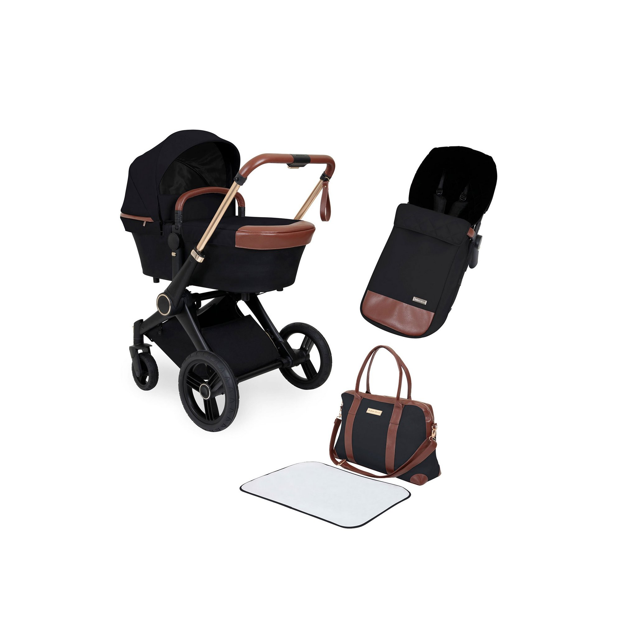 Image of Aston Rose 2 In 1 Carrycot and Pushchair