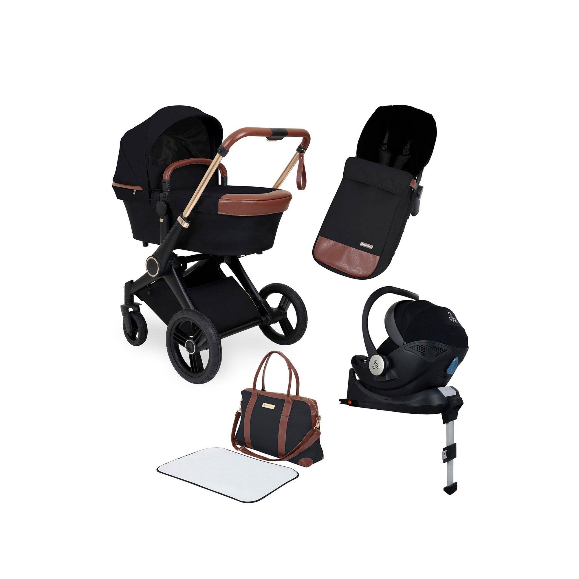Image of Aston Rose I-Size Travel System with Mercury Car Seat and Isofix Base