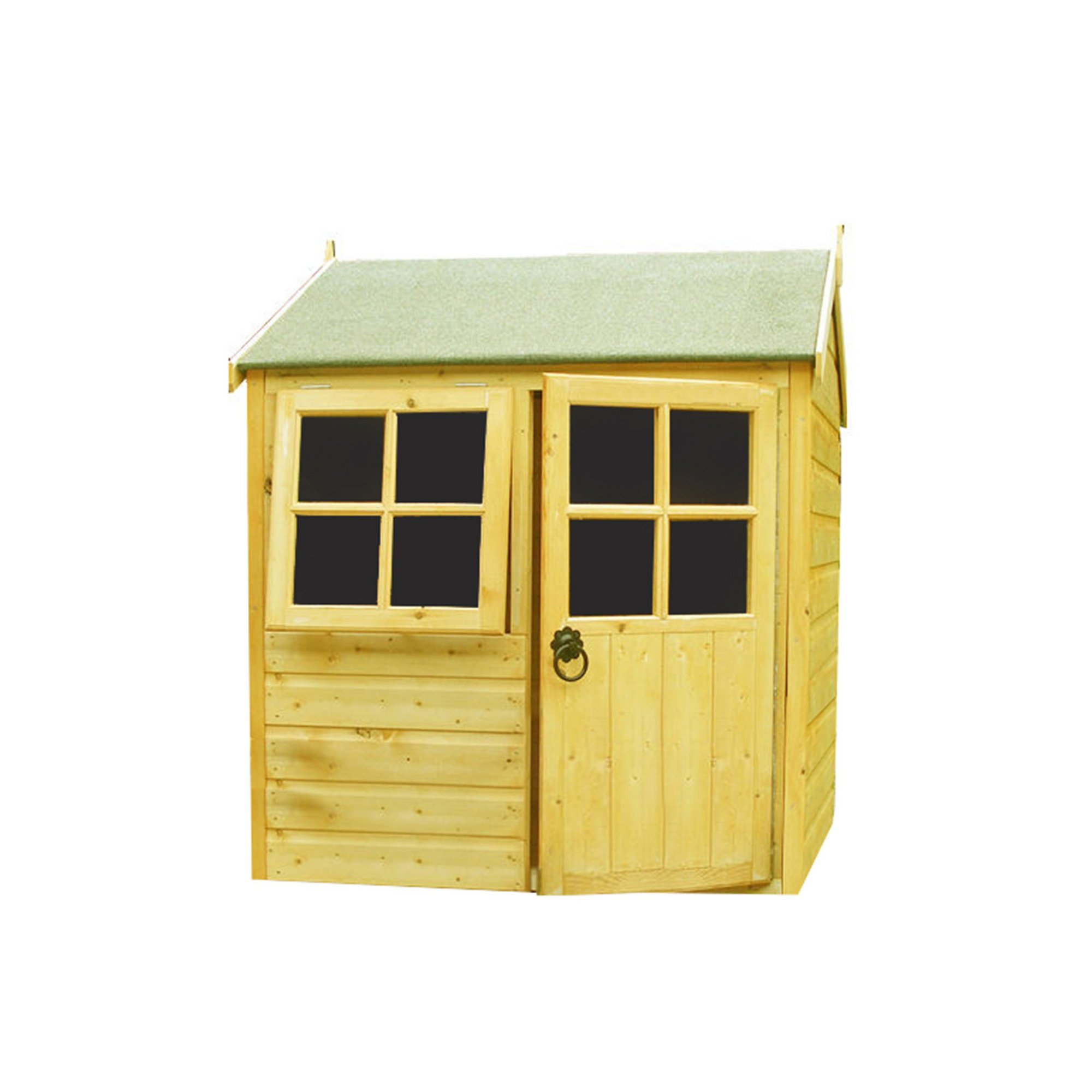 Image of 4x4 Bunny Play House with Assembly with Top Coat