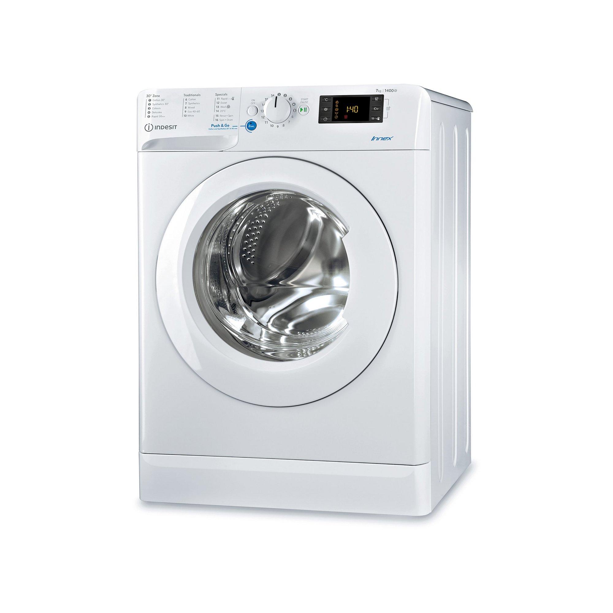 Image of Indesit 7kg 1400 Spin Washing Machine