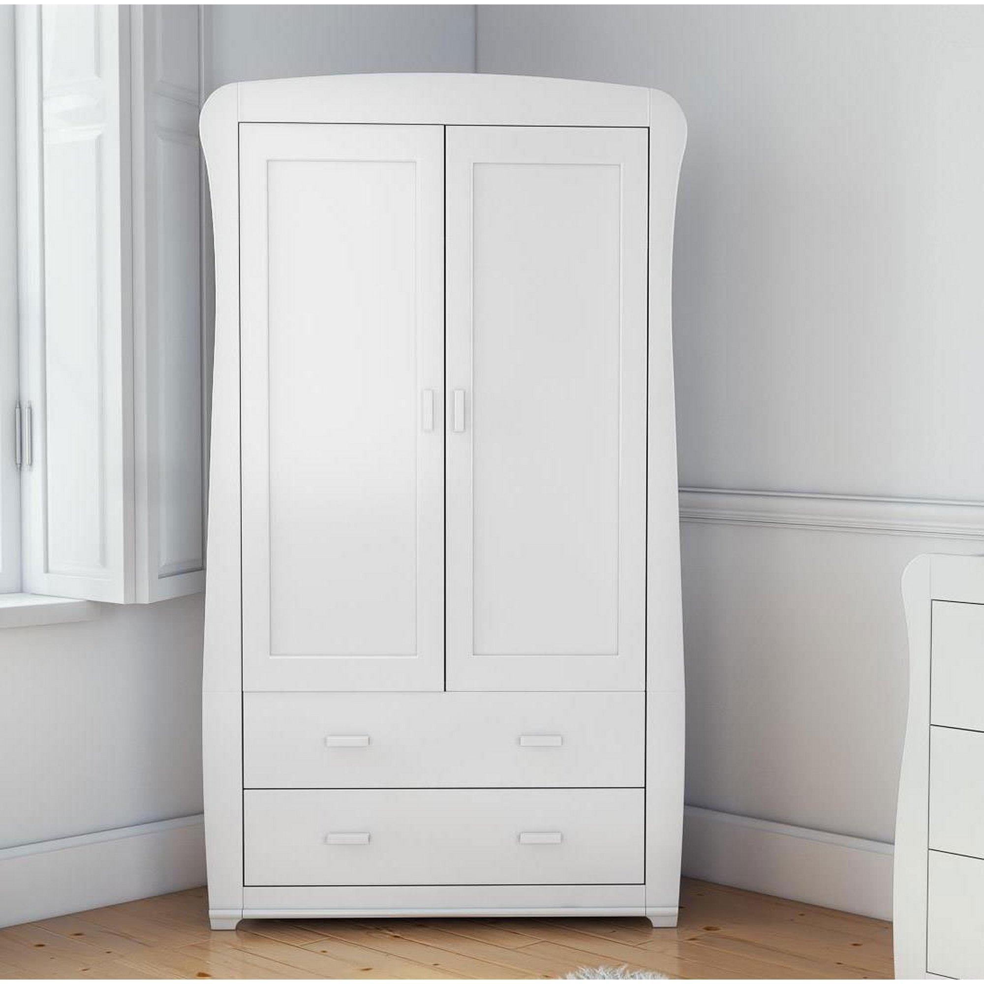 Image of Bel White Wardrobe