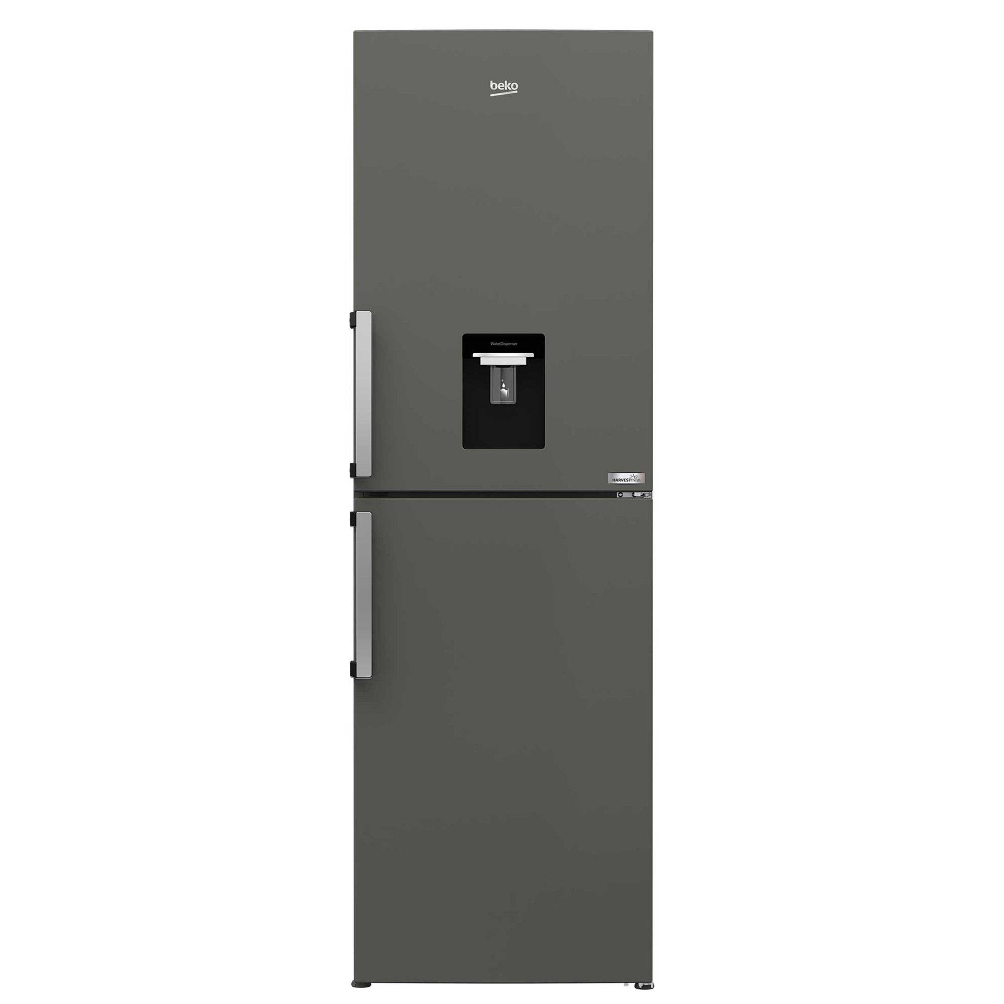 Image of Beko 191/60cm Frost Free Fridge Freezer with Water Dispenser
