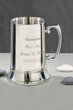 Traditional Personalised Tankard
