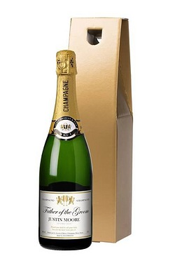 Personalised Champagne, Authentic Wedding Label