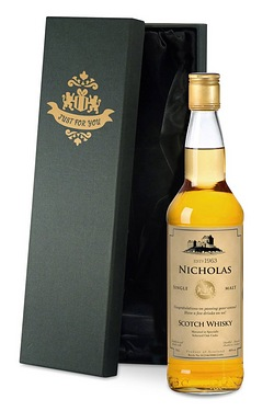 Personalised Single Malt Whisky, Generic Label - Gift Boxed