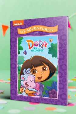 Personalised My Adventure Books - Dora The Explorer