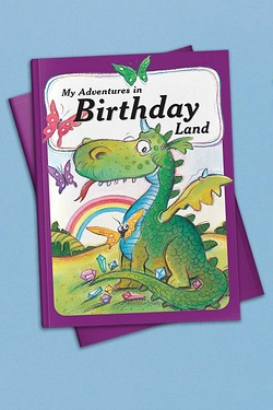 Personalised Adventure Book - Birthday Land