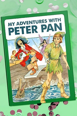 Personalised Adventure Book - Peter Pan