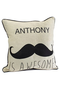 Personalised Cushion Cover - Boy Is Awesome