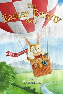 Personalised The Easter Bunny Story Softback Book