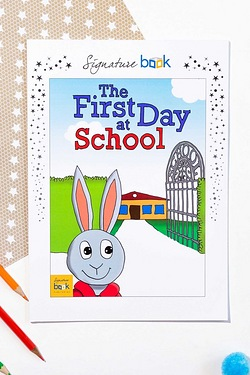 Personalised First Day Of School - Soft Back